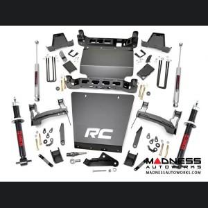 "Chevy Silverado 1500 4WD Suspension Lift Kit w/ Lifted N2.0 Struts & Rear N3 Shocks - 7"" Lift - Cast Steel"